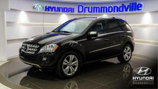 Used 2010 Mercedes-Benz ML 350 4MATIC + 92602KM + 4MATIC + TOIT + NAVI for sale in Drummondville, QC