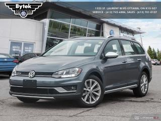 Used 2019 Volkswagen Golf Sportwagen Alltrack 1.8T HL DSG 6sp at w/Tip 4M for sale in Ottawa, ON