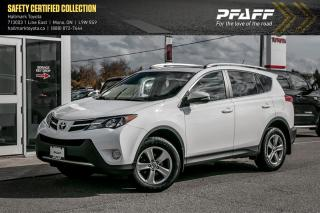 Used 2015 Toyota RAV4 FWD XLE for sale in Orangeville, ON