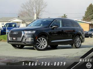 Used 2018 Audi Q7 3.0T KOMFORT + NAVI + 7 PLACES + CAMÉRA! for sale in Magog, QC