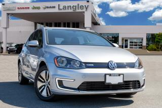 Used 2016 Volkswagen Golf e-Golf BACK-UP CAMERA, BLUETOOTH, HEATED SEATS, HEATED MIRRORS, KEY-LESS ENTRY! for sale in Surrey, BC