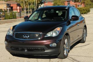 Used 2008 Infiniti EX35 Luxury LOW KMs | Navigation | SUNROOF | Leather for sale in Waterloo, ON