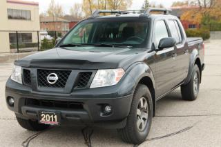 Used 2011 Nissan Frontier PRO-4X 4x4  | CERTIFIED for sale in Waterloo, ON