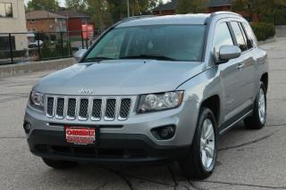 Used 2014 Jeep Compass Sport/North LOW KMs | ONLY 56K | Heated Seats | Bluetooth | Leather for sale in Waterloo, ON