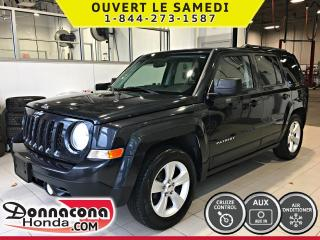 Used 2014 Jeep Patriot NORTH *CRUISE, AIR, MAGS* for sale in Donnacona, QC
