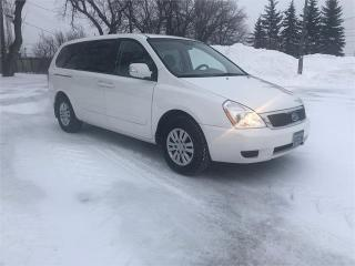 Used 2011 Kia Sedona EX NEW TIRES! NEW BRAKES! Local trade! for sale in Winnipeg, MB
