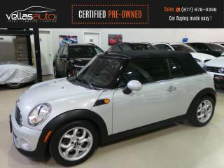 Used 2013 MINI Cooper Convertible Cooper CONVERTIBLE| AUTO for sale in Vaughan, ON