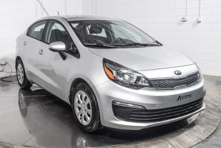 Used 2016 Kia Rio LX AUTOMATIQUE AC BLUETOOTH for sale in St-Hubert, QC