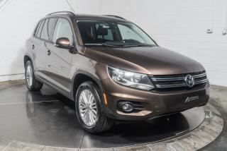 Used 2015 Volkswagen Tiguan SPECIAL EDITION 4MOTION A/C MAGS TOIT for sale in St-Hubert, QC