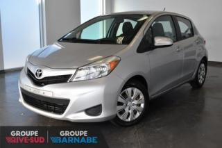 Used 2014 Toyota Yaris LE MANUELLE || AIR CLIMATISÉ || BLUETOOTH UN PROPRIO JAMAIS ACCIDENTÉ for sale in Brossard, QC