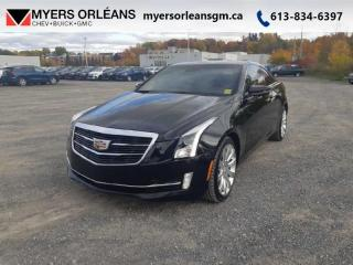 Used 2017 Cadillac ATS Coupe Luxury  AWD SUNROOF COUPE! for sale in Orleans, ON