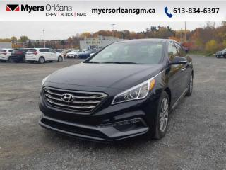 Used 2016 Hyundai Sonata Sport Tech  - Low Mileage for sale in Orleans, ON