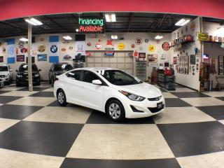 Used 2016 Hyundai Elantra L  AUT0 A/C BLUETOOTH H/SEAT 69K for sale in North York, ON