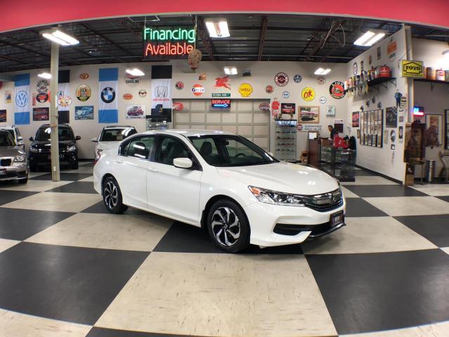 2016 Honda Accord Sedan LX AUT0 A/C CUISE H/SEATS BACKUP CAMERA 123K