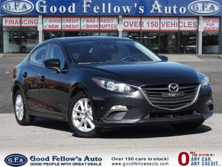 Used 2016 Mazda MAZDA3 GS MODEL, SKYACTIV, HEATED SEATS, REARVIEW CAMERA for sale in Toronto, ON