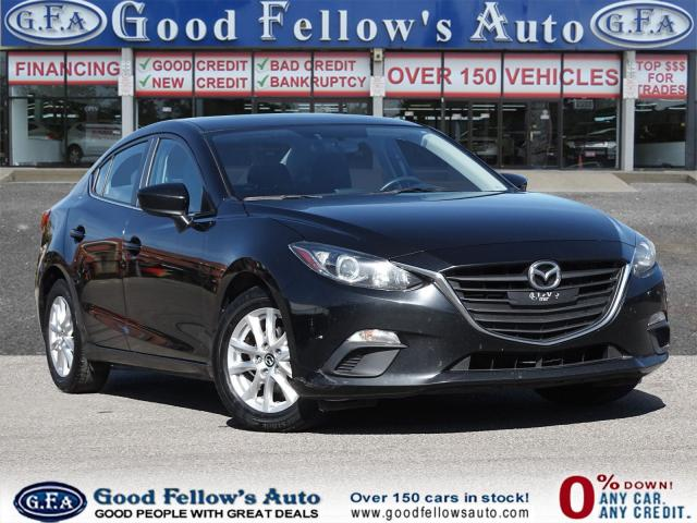 2016 Mazda MAZDA3 GS MODEL, SKYACTIV, HEATED SEATS, REARVIEW CAMERA