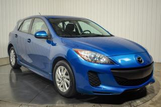 Used 2013 Mazda MAZDA3 HATCH SKY-ACTIVE A/C MAGS TOIT for sale in St-Hubert, QC