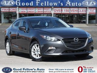 Used 2015 Mazda MAZDA3 GS MODEL, 4CYL 2L, CONVENIENCE PACKAGE, SKYACTIV for sale in Toronto, ON