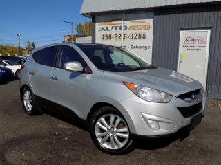 Used 2010 Hyundai Tucson ***LIMITED,4X4,AUCUN ACCIDENT,CUIR,TOIT* for sale in Longueuil, QC