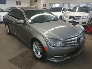 Used 2011 Mercedes-Benz C-Class C 250 4Matic Navi Moon for sale in North York, ON