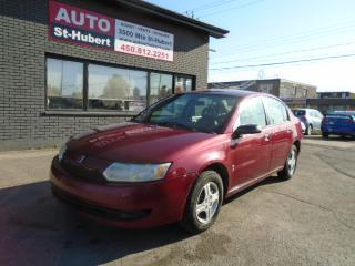 Used 2004 Saturn Ion for sale in St-Hubert, QC