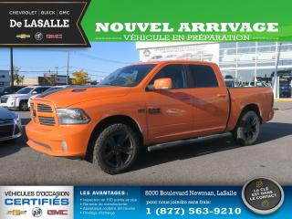 Used 2017 RAM 1500 SPORT / CUIR / TOIT / NAVIGATION SPORT / CUIR / TOIT / NAVIGATION for sale in Lasalle, QC
