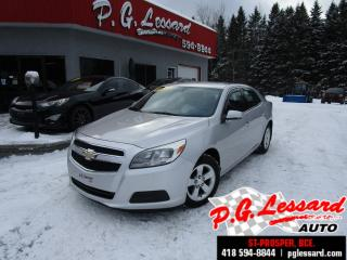 Used 2013 Chevrolet Malibu Ls 52 521 km seulement bluetooth mags for sale in St-Prosper, QC