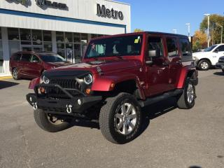 Used 2012 Jeep Wrangler Sahara for sale in Tillsonburg, ON