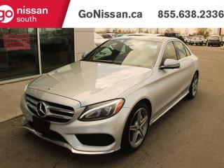 Used 2016 Mercedes-Benz C-Class C 300 SUNROOF BACK UP CAMERA for sale in Edmonton, AB