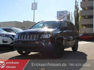 Used 2014 Jeep Compass LIMITED l AWD l Leather l Roof l Nav for sale in Edmonton, AB