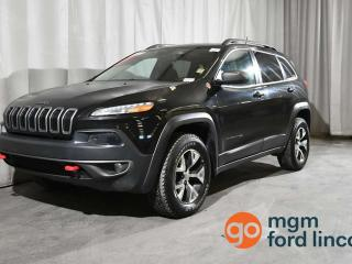 Used 2016 Jeep Cherokee CHEROKEE TRAILHAWK 4X4 for sale in Red Deer, AB