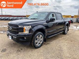 New 2019 Ford F-150 LARIAT 501A, 4X4 Supercrew, 2.7L Ecoboost, Auto Start/Stop, Pre-Collision Assist, Remote Keyless Entry, Navigation for sale in Edmonton, AB