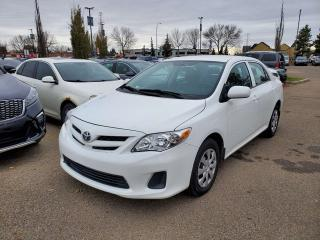 Used 2011 Toyota Corolla S; GREAT CAR, CRUISE CONTROL, A/C AND MORE for sale in Edmonton, AB