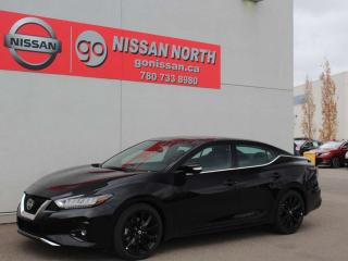 New 2020 Nissan Maxima SR/LEATHER/PANO ROOF/HEATED SEATS for sale in Edmonton, AB