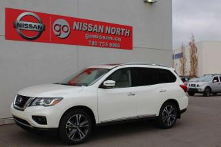 New 2020 Nissan Pathfinder Platinum/4WD/360 CAM/COOLED SEATS/DVD for sale in Edmonton, AB
