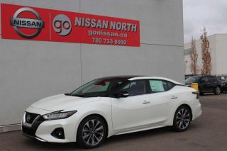 New 2020 Nissan Maxima Platinum/HEATED/COOLED LEATHER/PANO ROOF for sale in Edmonton, AB