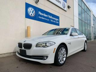 Used 2012 BMW 5 Series 528i xDrive AWD - LEATHER / HEATED SEATS / SUNROOF for sale in Edmonton, AB