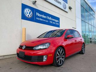 Used 2012 Volkswagen Golf GTI 2.0T 6SPD M/T - SUNROOF / UPGRADED WHEELS for sale in Edmonton, AB