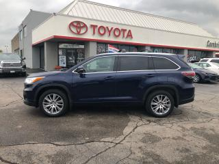 Used 2015 Toyota Highlander XLE leather roof nav 7 passenger for sale in Cambridge, ON