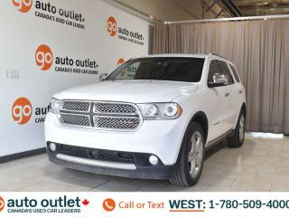 Used 2013 Dodge Durango Citadel, 3.6L V6, Awd, Third row 7 passenger seating, Navigation, Heated leather seats, Heated steering wheel, Backup camera, Sunroof, Bluetooth for sale in Edmonton, AB