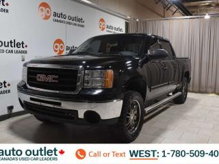 Used 2011 GMC Sierra 1500 Sl, 4.8L V8, 4x4, Crew cab, Short box, Cloth seats for sale in Edmonton, AB