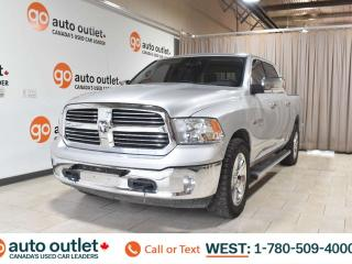 Used 2013 RAM 1500 Big horn, 5.7L V8, 4x4, Crew cab, Short box, Navigation, Heated leather seats, Heated steering wheel, Bluetooth for sale in Edmonton, AB
