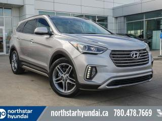 Used 2017 Hyundai Santa Fe XL LTD 7PASS/LEATHER/PANOROOF/NAV/BACKUPCAM for sale in Edmonton, AB