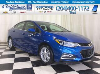 Used 2018 Chevrolet Cruze * LT Turbo Sedan * RS PACKAGE * BLUETOOTH * for sale in Portage la Prairie, MB