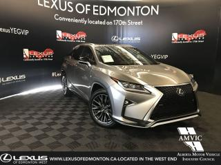 Used 2017 Lexus RX 350 F-Sport Series 2 for sale in Edmonton, AB