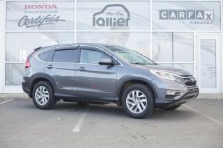 Used 2016 Honda CR-V SE AWD ***GARANTIE 10 ANS/200 000 KM*** for sale in Québec, QC