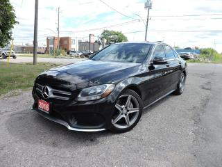 Used 2016 Mercedes-Benz C-Class C 300 4matic/AMGpkg/Navigation/RevCam for sale in BRAMPTON, ON