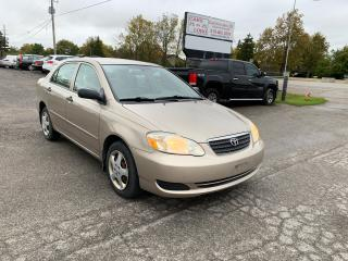 Used 2007 Toyota Corolla CE for sale in Komoka, ON