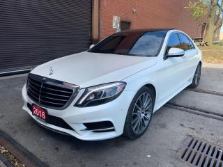 Used 2016 Mercedes-Benz S550 4MATIC AMGpkg/Navigation/Panoroof/4Matic/MassageSeats for sale in BRAMPTON, ON