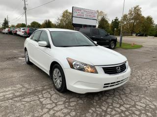 Used 2008 Honda Accord LX for sale in Komoka, ON